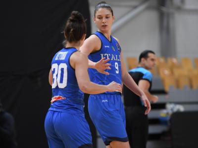 Basket femminile, le convocate dell'Italia ai raggi X per Danimarca e Romania