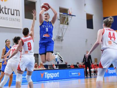 Italia-Danimarca basket femminile: programma, orario, tv, streaming Qualificazioni Europei 2021