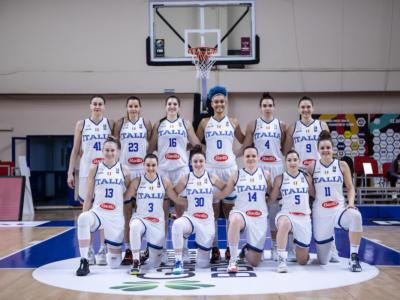 Basket femminile, Qualificazioni Europei 2021: Italia, roster confermato per la Romania. Lino Lardo non cambia le 12 in campo