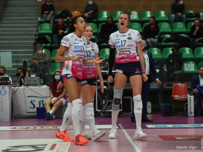 Champions League volley femminile: Novara vince contro le ceche dell'Olomouc e ipoteca i playoff