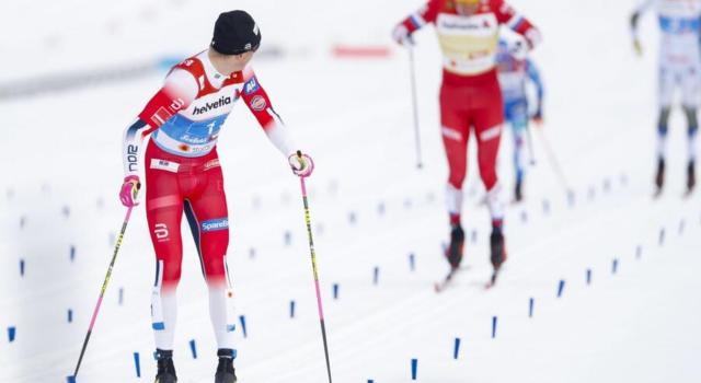 VIDEO Sci di fondo, la Norvegia di Klaebo vince la team sprint. Italia quinta con Pellegrino e De Fabiani
