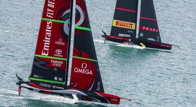 """America's Cup, velocità di New Zealand a 110 km/h? Gabriele Bruni: """"Assolutamente falso"""""""