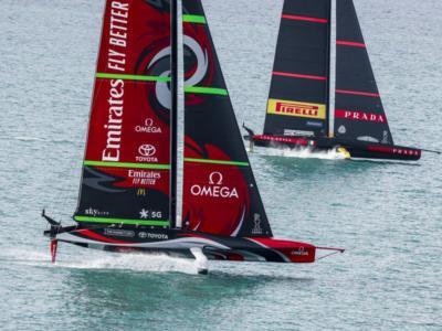 America's Cup: New Zealand: il rinvio è un vantaggio per provare il doppio timoniere