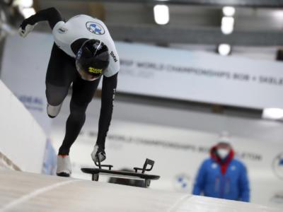 Skeleton, dopo le prime due manche dei Mondiali di Altenberg comanda Tretiakov, ottimo nono Gaspari, 12° Bagnis