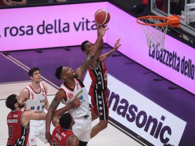 LIVE Olimpia Milano-Reggio Emilia 80-52, Coppa Italia basket in DIRETTA: l'Armani domina e va senza problemi in semifinale