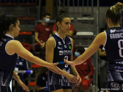 Volley, serie A1 femminile. 22. giornata. Programma dimezzato: Conegliano a Cuneo per il primo posto matematico