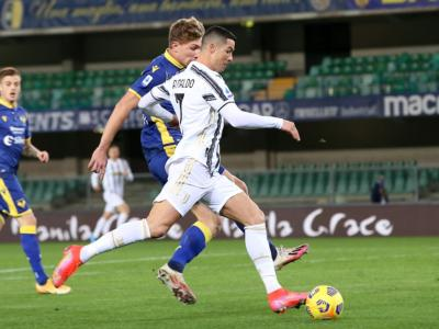 Calcio, Barak risponde a Cristiano Ronaldo: la Juventus fermata dal Verona al Bentegodi