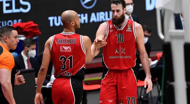 LIVE Trento-Olimpia Milano 61-60, Serie A basket in DIRETTA: impresa dell'Aquila che sconfigge la capolista!