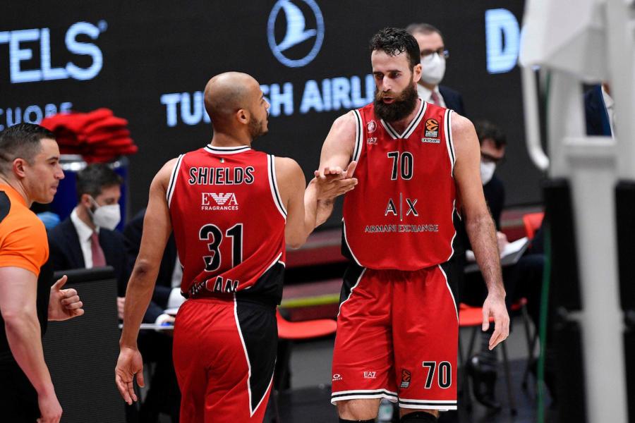 Basket: Olimpia Milano, tutto facile con i resti del Khimki. Vittoria numero 17 in Eurolega nella stagione