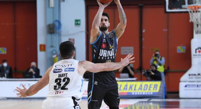 Basket, Cremona batte Trento e ritorna al successo nel lunch match della 20ª giornata di Serie A