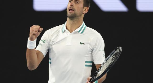"""Australian Open 2021, Novak Djokovic: """"Mi sarei ritirato in un altro torneo"""""""