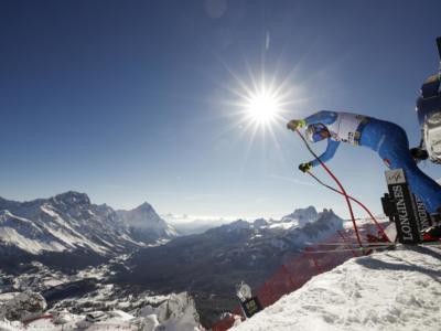 Sci alpino, saranno cinque gli azzurri impegnati nelle prove veloci di questo weekend a Saalbach