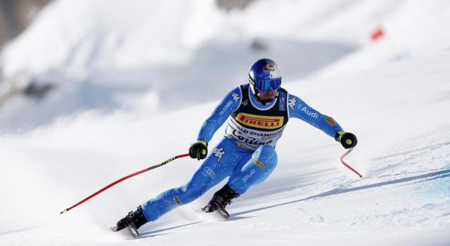 Sci alpino, Dominik Paris al comando nell'ultima prova di discesa dei Mondiali. Bene Schieder e Marsaglia