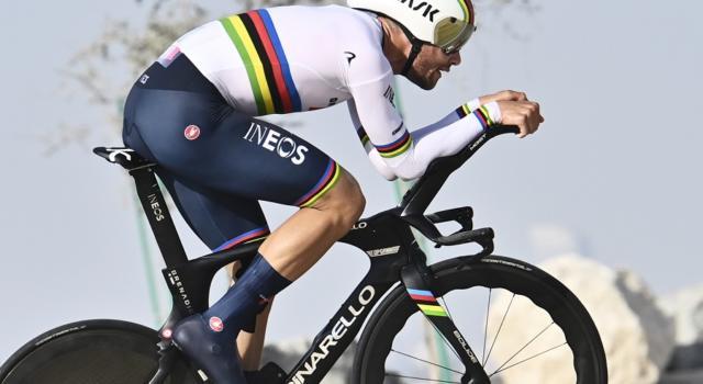 Giro di Romandia, a che ora parte oggi Filippo Ganna. La startlist della cronometro di Friburgo
