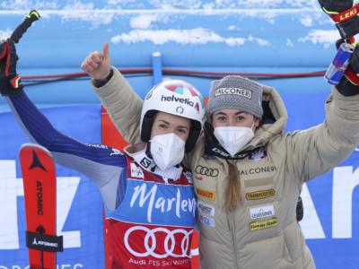 """Sci alpino, Sofia Goggia: """"Bassino è la più forte e deve sciare con la mente libera, Brignone pronta per la zampata"""""""