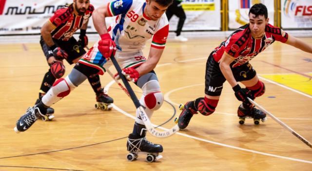 Hockey pista, Serie A1 2021: Correggio-Sarzana 2-4, il posticipo della 20ma giornata va ai liguri