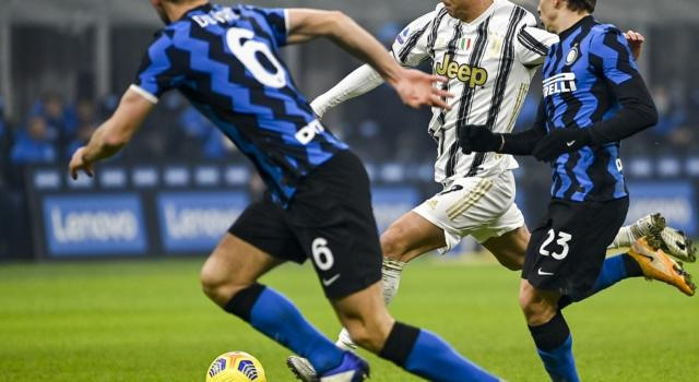 Inter-Juventus oggi: orario, tv, programma, streaming, andata semifinale Coppa Italia