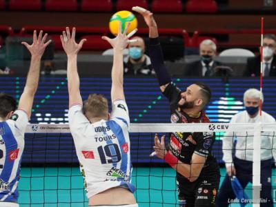 Volley, Champions League 2021. Modena e Civitanova: vittorie che profumano di quarti. Sconfitte Kemerovo e Tours