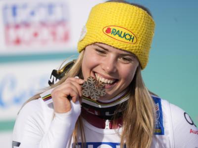 Sci alpino, Katharina Liensberger oro mondiale in slalom! Vlhova e Shiffrin demolite