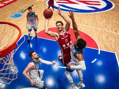 Basket: Reggio Emilia giocherà in Romania ottavi ed eventuali quarti di FIBA Europe Cup 2021