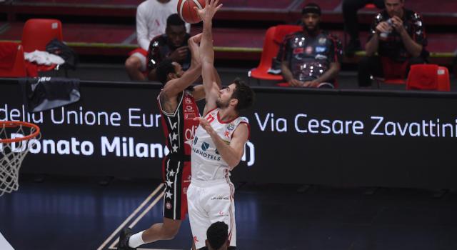 Basket, Coppa Italia 2020-2021: l'Olimpia Milano favorita contro Reggio Emilia