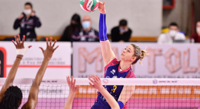 Volley femminile, Playoff Serie A1: Scandicci espugna Busto Arsizio nella gara-1 dei quarti