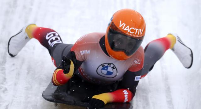 Skeleton, doppietta tedesca anche nel mixed team dei Mondiali di Altenberg, azzurri nella top10
