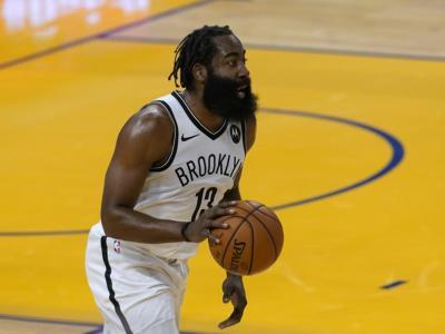 NBA 2020-2021: Harden stende i Pacers con 40 punti, Milwaukee batte Philadelphia all'overtime