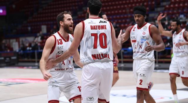 Basket, Final Eight Coppa Italia 2021: l'Olimpia Milano domina con Venezia e vola in finale