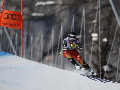 VIDEO James Crawford stupisce tutti nel superG della combinata mondiale a Cortina. Riccardo Tonetti 10°