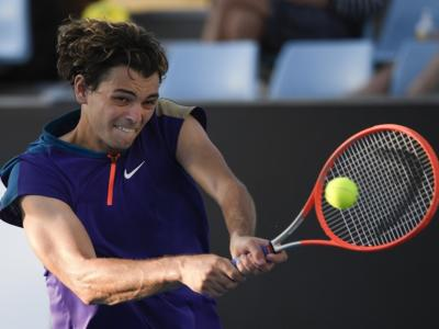 """Tennis, Taylor Fritz: """"Se l'infortunio di Djokovic fosse stato grave non avrebbe potuto continuare a giocare"""""""