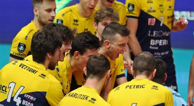 Volley, Champions League: Modena travolge Perugia! Clamoroso 3-0 nell'andata dei quarti, impresa dei Canarini