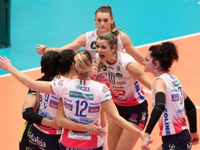 Volley femminile, Playoff Serie A1: Novara e Scandicci in semifinale, Perugia e Busto Arsizio si arrendono