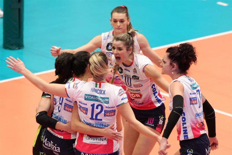 LIVE Novara Fenerbahce 3 1 (25 16, 25 18, 16 25, 25 11), quarti Champions League 2020/2021: PUNTEGGIO in DIRETTA volley