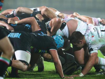 Rugby, Pro 14: le Zebre sprecano tanto a Swansea, gli Ospreys soffrono, ma vincono