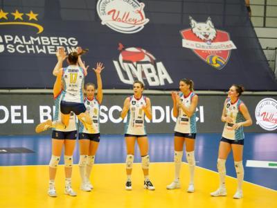 Volley femminile, Champions League: Scandicci travolge lo Schweriner, vince il girone e vola ai quarti