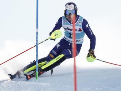 Sci alpino, Alex Vinatzer è tornato! 2° a metà gara nello slalom iridato, caccia alle medaglie!