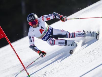 Sci alpino, Mathieu Faivre guida il gigante di Bansko. De Aliprandini fuori dalla Top-10