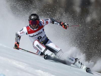 Sci alpino, Mathieu Faivre in testa a metà gara nel gigante di Bansko. Azzurri lontani
