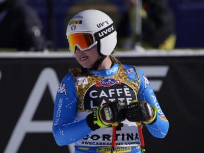 Sci alpino, Nadia Delago terza nella prima prova di discesa in Val di Fassa. In testa la norvegese Lie