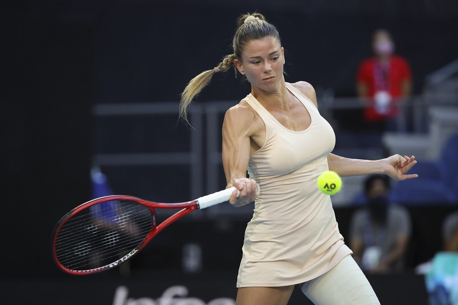 Tennis, WTA Lione 2021: buona la prima per Camila Giorgi