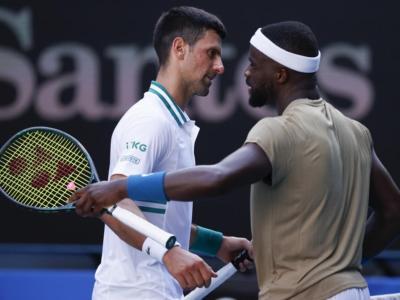 """Australian Open 2021, Frances Tiafoe: """"Djokovic non aveva bisogno di questo tipo di aiuto"""""""