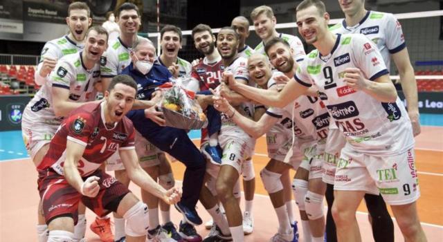 Volley, Champions League: Trento batte il Karlovarsko e sarà testa di serie ai quarti di finale