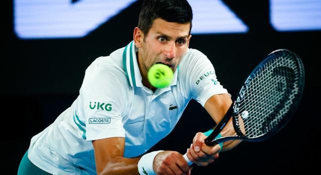 """Tennis, Djokovic replica a Nadal: """"Non sono ossessionato dai record, provo solo amore e passione per il tennis"""""""