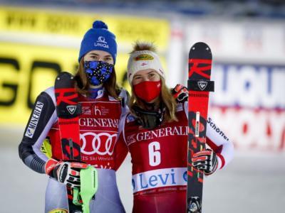 Sci alpino, Liensberger e Vlhova: festa per due! All'austriaca la Coppa del Mondo di slalom, alla slovacca la generale