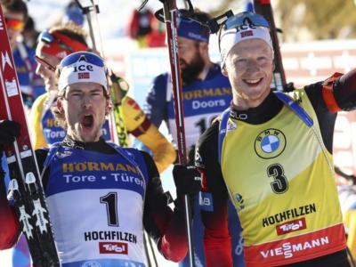 Biathlon, Coppa del Mondo Östersund 2021. Solo 7 punti separano Johannes Bø e Sturla Holm Lægreid nella corsa alla Sfera di cristallo!