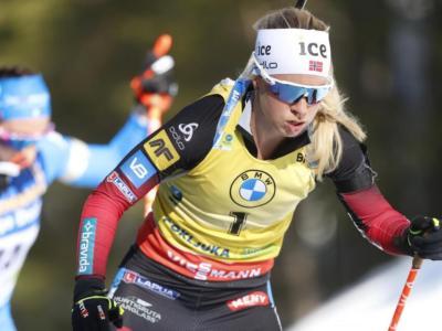 Classifica finale Coppa del Mondo biathlon femminile 2021: dominio incontrastato di Tiril Eckhoff