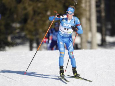 Biathlon, Lukas Hofer campione d'Italia nella mass start davanti a Bormolini e Windisch