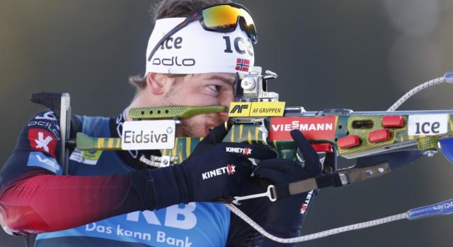 Biathlon, Sturla Laegreid rimonta e vince l'inseguimento a Oestersund. Lukas Hofer 3°, ancora podio!