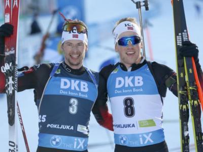 Biathlon, Coppa del Mondo Nove Mesto II 2021. Che braccio di ferro tra Johannes Bø e Sturla Holm Lægreid!